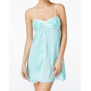 Kate Spade Bridal Tiffany Blue Babydoll Chemise XL